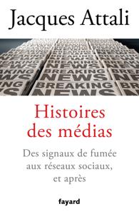 Histoires des médias Couverture de livre