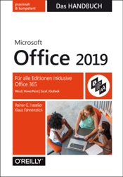 Microsoft Office 2019 – Das Handbuch