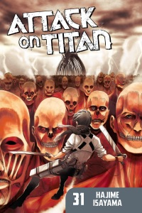 Attack on Titan Volume 31 by Hajime Isayama Book Cover