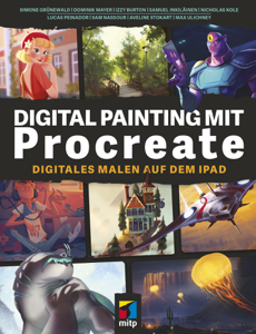 Digital Painting mit Procreate Buch-Cover