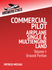 Commercial Pilot Airplane Single and Multiengine Land
