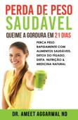 Perda de Peso Saudável: Queime a Gordura em 21 Dias Book Cover