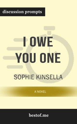 I Owe You One: A Novel by Sophie Kinsella (Discussion Prompts) image