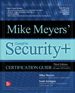 Mike Meyers' CompTIA Security+ Certification Guide, Third Edition (Exam SY0-601) Book Cover