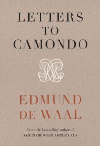Letters to Camondo Boekomslag