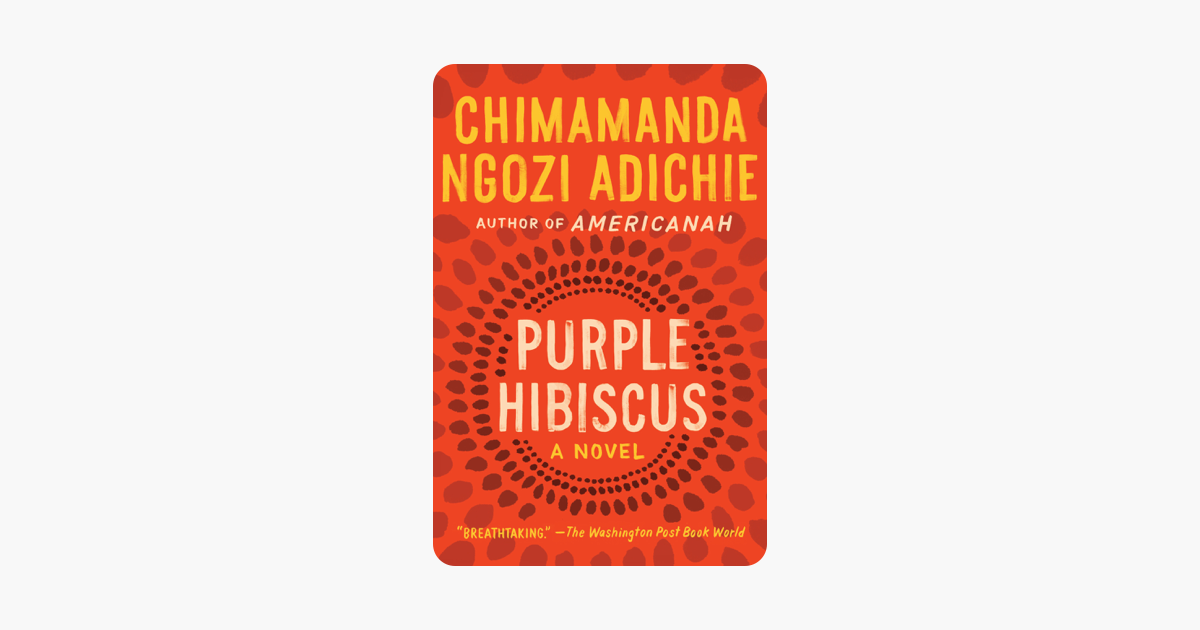 Purple Hibiscus On Apple Books