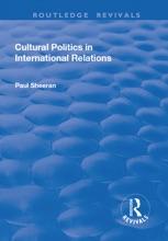 Cultural Politics In International Relations