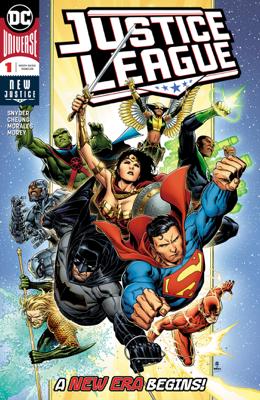 Justice League (2018-) #1 - Scott Snyder & Jim Cheung book