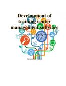 Development of training center management software Book Cover