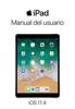 Apple Inc. - Manual del usuario del iPad para iOS 11.4 ilustración