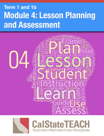 Module 4: Lesson Planning and Assessment book