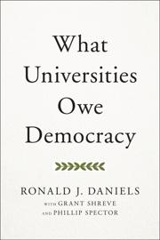 What Universities Owe Democracy