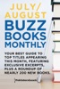 July/August Buzz Books Monthly