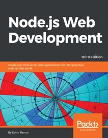 Node Js Web Development Third Edition