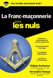 Franc-maçonnerie Poche pour les nuls La couverture du livre martien