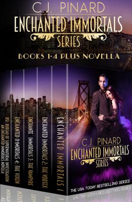 Enchanted Immortals: The Series - C.J. Pinard book