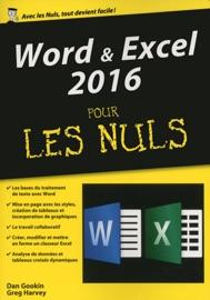 Word & Excel 2016, mégapoche pour les Nuls - Greg Harvey & Dan Gookin