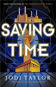 Saving Time Book Cover