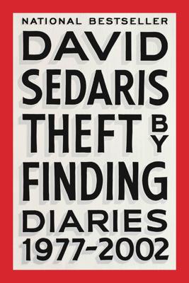 Theft by Finding - David Sedaris book