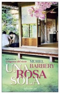 Una rosa sola di Muriel Barbery Copertina del libro