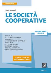 Le società cooperative Libro Cover