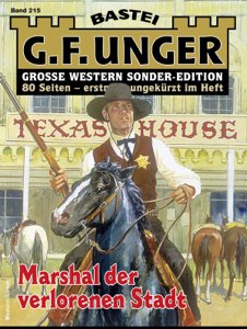 G. F. Unger Sonder-Edition 215 - Western Buch-Cover