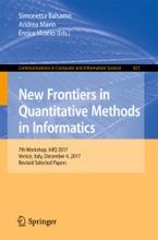 New Frontiers In Quantitative Methods In Informatics