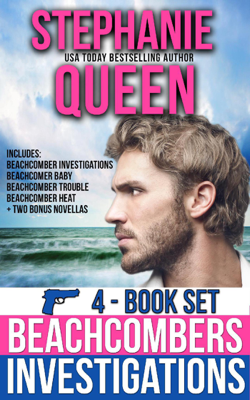 Stephanie Queen - Beachcomber Investigations 4 Book Set book
