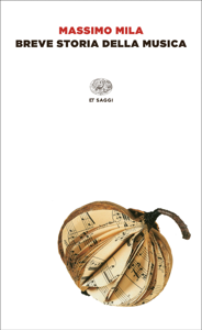 Breve storia della musica Copertina del libro