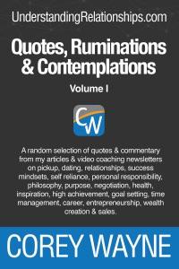 Quotes, Ruminations & Contemplations