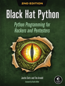 Black Hat Python, 2nd Edition Book Cover