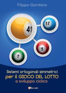 Sistemi ortogonali simmetrici per il gioco del Lotto a sviluppo ciclico Copertina del libro