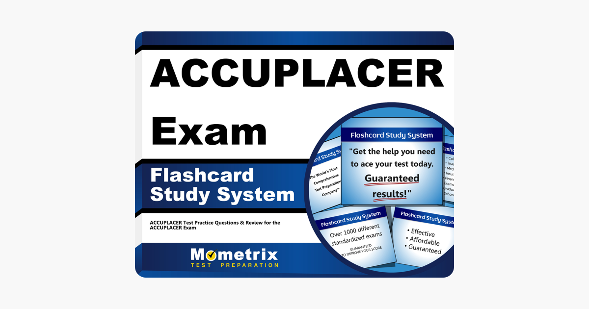‎ACCUPLACER Exam Flashcard Study System: