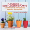 Flowering Vs Non-Flowering Plants  Knowing The Difference - Biology 3rd Grade  Childrens Biology Books