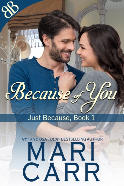 Because Of You By Mari Carr On Apple Books
