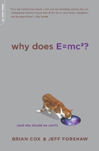 Why Does E=mc2? Book Cover