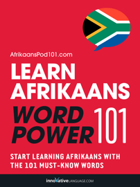 Learn Afrikaans - Word Power 101 book