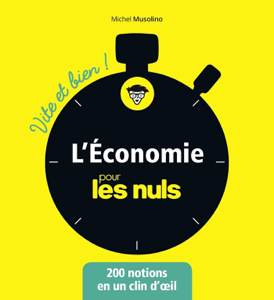 L'économie pour les Nuls - Vite et Bien La couverture du livre martien