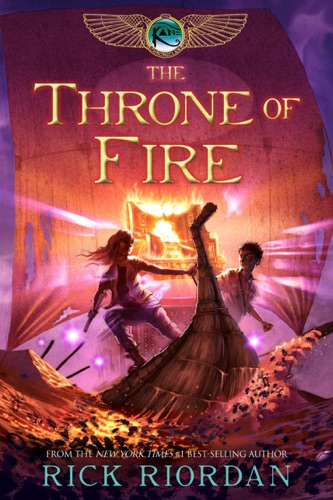 Rick Riordan - The Throne of Fire (The Kane Chronicles, Book 2)