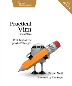 Practical Vim Book Cover