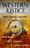 Mark Reps - Western Justice (Three Western Writers - Three Mystery Novellas) kunstwerk