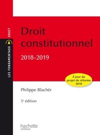 Les Fondamentaux Droit Constitutionnel 2018 2019