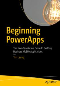Beginning PowerApps La couverture du livre martien