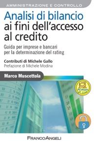 Analisi di bilancio ai fini dell'accesso al credito. da Marco Muscettola Copertina del libro