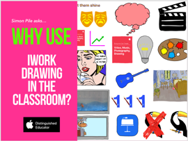 Why use iWork Drawing in the Classroom book