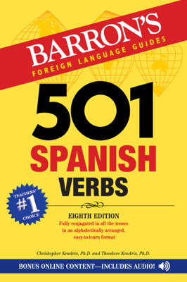 501 Spanish Verbs - Christopher Kendris & Theodore Kendris book