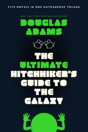 The Ultimate Hitchhiker's Guide to the Galaxy - Douglas Adams Book