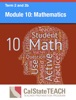 Module 10: Mathematics