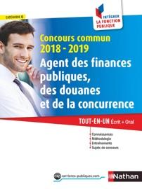 CONCOURS COMMUN AGENT DES FINANCES PUBLIQUES, DES DOUANES ET DE LA CONCURRENCE 2018-2019