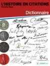 LHistoire En Citations - Dictionnaire
